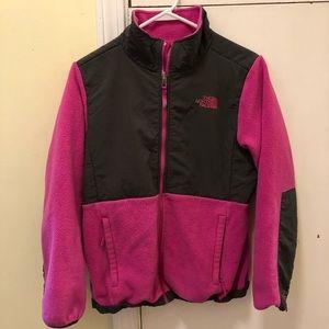 Girls North Face Pink Jacket!
